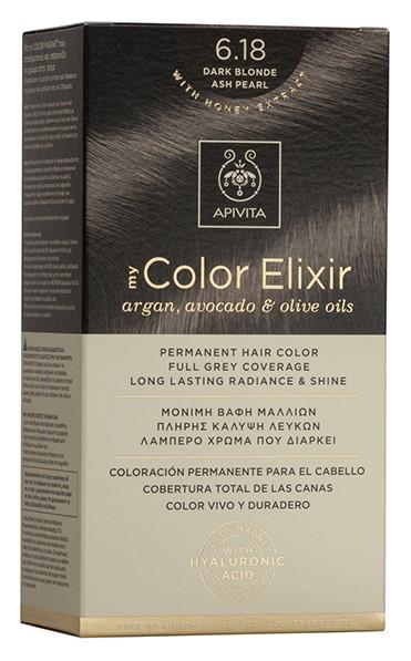 APIVITA My Color Elixir N6.18 Ξανθό Σκούρο Σαντρέ, 125ml
