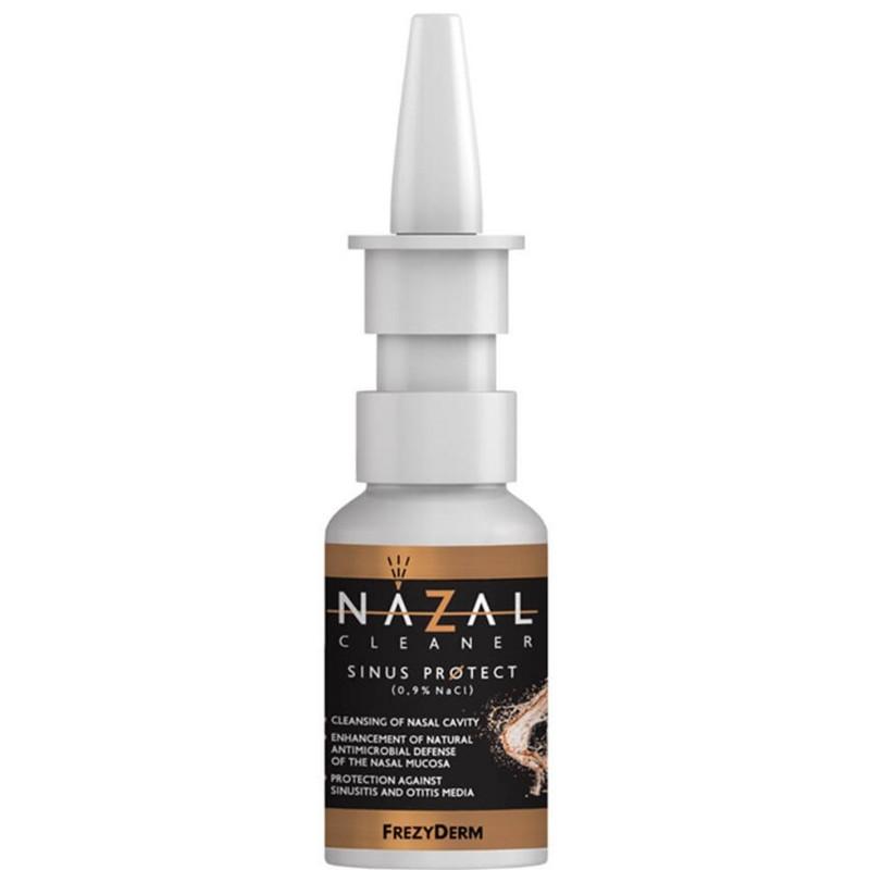 FREZYDERM Nazal Cleaner Sinus Protect, Σπρέυ Ρινικής Αποσυμφόρησης που προφυλάσσει από ιγμορίτιδα & ωτίτιδα, 30ml