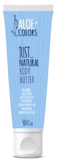 ALOE + COLORS Body Butter Just Natural Κρέμα Σώματος 50ML