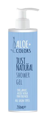 ALOE + COLORS Shower Gel  Just Natural 250ML