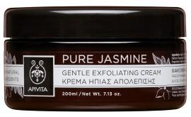 APIVITA Pure Jasmine Κρέμα Ήπιας Απολέπισης με Γιασεμί, 200ml