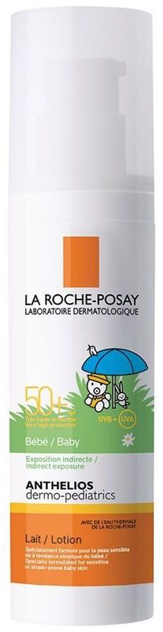 LA ROCHE-POSAY Anthelios DP Lait Bebe SPF50+ Πολύ Υψηλή Βρεφική Προστασία Προσώπου και Σώματος, 50ml