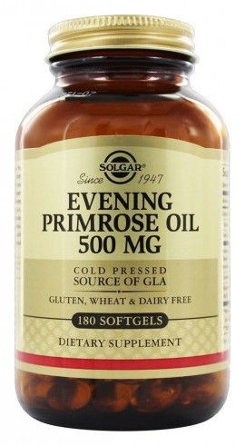 SOLGAR Evening Primrose Oil 500mg, 180Softgels