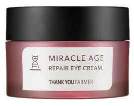 THANK YOU FARMER Miracle Age Repair Eye Cream Κρέμα Ματιών Θρέψης Πλούσιας Υφής, 20gr