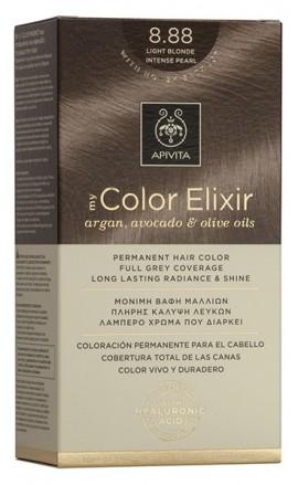 APIVITA My Color Elixir N8.88 Ξανθό ανοιχτό Έντονο περλέ, 125ml