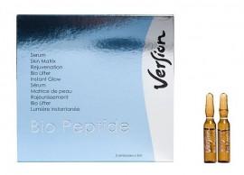 VERSION BIO PEPTIDE SERUM Ampoules , άμεση εντατική θεραπεία και λάμψη 5 αμπούλες x 2,5ml (1τμχ)