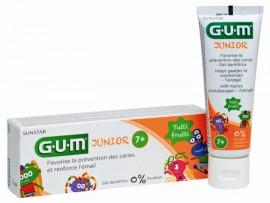 GUM JUNIOR 7-12 TOOTHPASTE 3004 Παιδική Οδοντόπαστα 7-12 Ετών Καταπολεμά την Τερηδόνα, με γεύση tutt-frutti 50ML