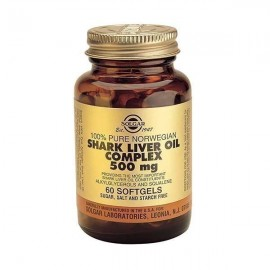SOLGAR Shark Liver Oil 500mg, 60Softgels