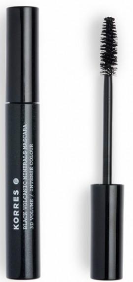 KORRES Black Volcanic Minerals Mascara NO01 Black, 4ml