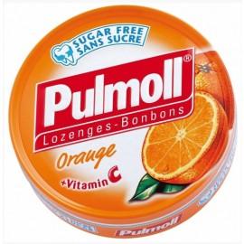 PULMOLL Καραμέλες Χωρίς Ζάχαρη με Πορτοκάλι, 45gr