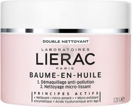 LIERAC Demaquillant Baume en Huile Bάλσαμο σε Έλαιο Διπλού Καθαρισμού για ξηρές επιδερμίδες, 120g
