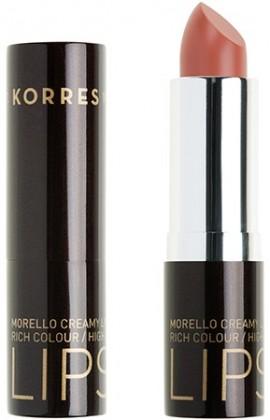 KORRES Matte Lipstick NO03 Warm Beige Ματ Kραγιόν με Kρεμώδη υφή, 3.5gr