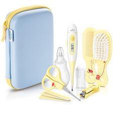 AVENT PHILIPS Σετ βρεφικής περιποίησης: ψηφιακό θερμόμετρο, ρινικό πουάρ, οδοντόβουρτσα δακτύλου, σετ περιποίησης νυχιών, σετ περιποίησης μαλλιών code …