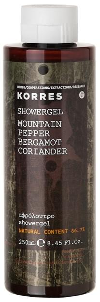 KORRES Αφρόλουτρο Mountain Pepper/ Bergamot/ Coriander, 250ml