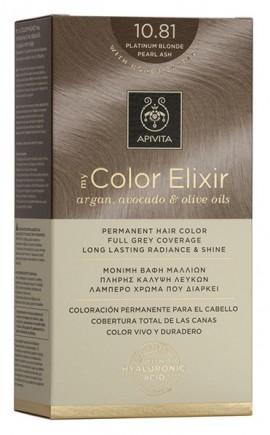 APIVITA My Color Elixir N10.81 Κατάξανθο περλέ σαντρέ, 125ml