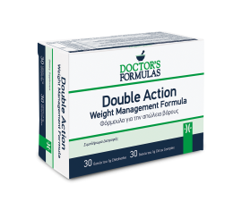 DOCTOR'S FORMULAS DOUBLE ACTION φόρμουλα αδυνατίσματος (60 δισκία)