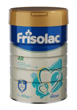 Frisolac AR Βρεφικό Γάλα Ειδικής Διατροφής από τη Γέννηση έως το 12ο μήνα για την Αντιμετώπιση των Αναγωγών 400 gr