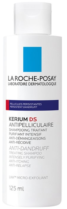 LA ROCHE-POSAY Kerium DS Antipell Intensif Σαμπουάν Εντατικής Αγωγής Κατά της Σμηγματορροϊκής Δερματίτιδας, 125ml