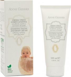 Anne Geddes Soothing Facial & Body Cream Βιολογική Ενυδατική Κρέμα για το πρόσωπο & το σώμα του μωρού, 100ml