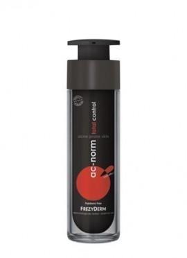 FREZYDERM Ac-Norm Total Control Cream, Κρέμα προσώπου με Ματ αποτέλεσμα, για την ήπια, μέτρια & σοβαρή ακμή. Μειώνει τη φλεγμονή, ρυθμίζει τη λιπαρότη …