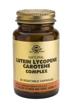 SOLGAR LUTEIN LYCOPENE CAROTENE COMPLEX veg.caps 30s