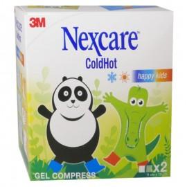 3M NEXCARE Cold Hot Happy Kids Παγοκύστη / Θερμοφόρα 11 cm x 12 cm ,2 τεμάχια
