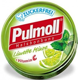 PULMOLL Καραμέλες Χωρίς Ζάχαρη με Γλυκολέμονο, 45gr