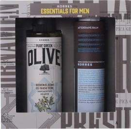 KORRES Essentials for Men, Αφρόλουτρο Κέδρος & Aftershave Καλέντουλα & Ginseng, 250ml & 200ml