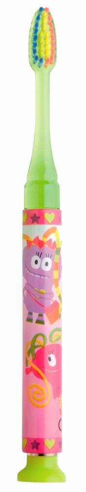 GUM 903 Junior Light-Up Yellow Soft Παιδική Οδοντόβουρτσα Κίτρινη φωτιζόμενη Μαλακή για ηλικίες 7-9 ετών