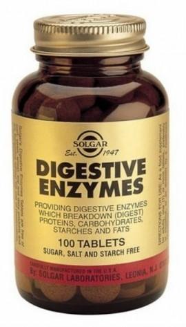 SOLGAR Digestive Enzymes, 100Tabs