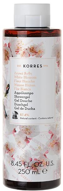 KORRES Αφρόλουτρο με Λευκά Άνθη, 250ml