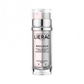 LIERAC Rosilogie Double Concentre, Διπλό Συμπύκνωμα Ημέρας & Νύχτας για Διόρθωση της Ερυθρότητας, 30ml