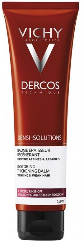 VICHY Dercos Densi-Solutions Regenerating Thickening Balm Τονωτική Κρέμα Πύκνωσης & Ανάπλασης για Λεπτά & Αδύναμα Μαλλιά, 150ml