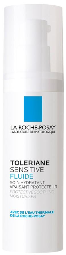 La ROCHE-POSAY Toleriane Sensitive Fluide Καθημερινή Ενυδατική Φροντίδα με Πρεβιοτικά, που Ανακουφίζει Άμεσα το Δέρμα από τα Συμπτώματα Ευαισθησίας, 4 …