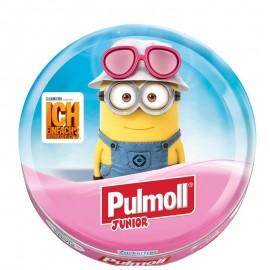 PULMOLL Junior Καραμέλες για παιδιά με Βατόμουρο, Εχινάκια & Βιταμίνη C, 45gr