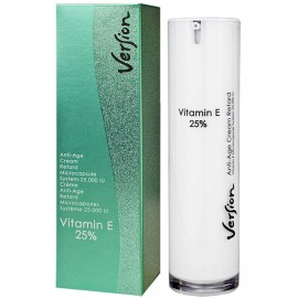 VERSION VITAMIN E 25% Αναπλαστική και αναζωογονητική κρέμα νυκτός 50ml