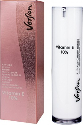 VERSION VITAMIN E10% Αναπλαστική και αντιοξειδωτική Κρέμα 50ml
