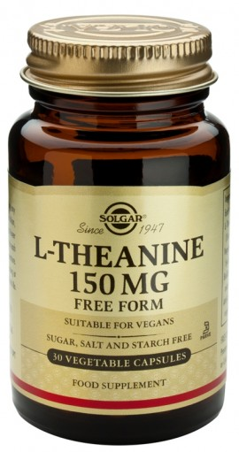 SOLGAR L-THEANINE 150MG 30CAP