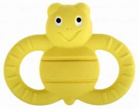 MAM Ellie, η μελισσούλα Τα Φιλαράκια Χειροποίητα Μασητικά Παιχνίδια από Φυσικό Latex για μωρά 3+ μηνών code 591 Yellow