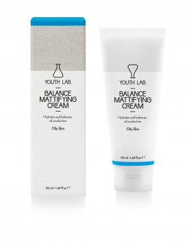 YOUTH LAB Balance Mattifying Cream (Oily skin) Ρυθμιστική, ενυδατική κρέμα με αντιοξειδωτική δράση για το λιπαρό δέρμα και το δέρμα με τάση ακμής, 50M …