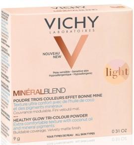 VICHY MineralBlend Healthy Glow Tri-Color Powder Fair, 9gr