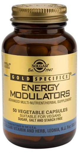 SOLGAR Energy Modulators, 50Veg.Caps