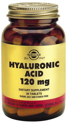 SOLGAR Hyaluronic Acid Complex, 30Tabs