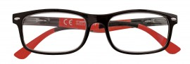 Zippo Γυαλιά Πρεσβυωπίας σε χρώμα ΚΟΚΚΙΝΟ-ΜΑΥΡΟ code: 31Z-NR (1 τεμάχιο)
