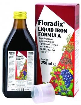 POWER HEALΤΗ Floradix Τονωτικός Σίδηρος για Γυναίκες, 250ml