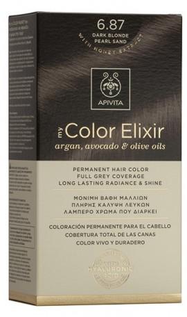 APIVITA My color Elixir N6.87 Ξανθό Σκούρο Περλέ, 125ml