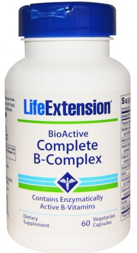 Life Extension Complete B - Complex Συμπλήρωμα διατροφής με Βιταμίνες του Συμπλέγματος Β, 60 κάψουλες