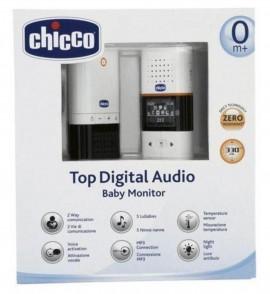 CHICCO Top Digital Audio baby monitor Ενδοεπικοινωνία Ήχου με το μωρό σας (1 τμχ) code 02565-00