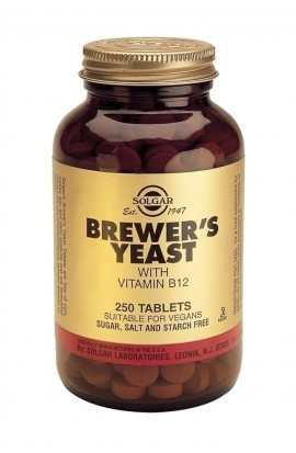 SOLGAR Brewers Yeast 500mg, 250Tabs