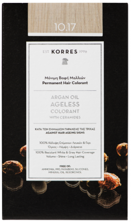 KORRES Argan Oil Colorant NO10.17 Platinum Blonde Beige, 50ml